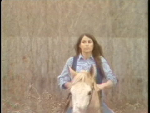 blacksmith toni hanna rides her buckskin horse in utica, ny. - animal colour stock videos & royalty-free footage