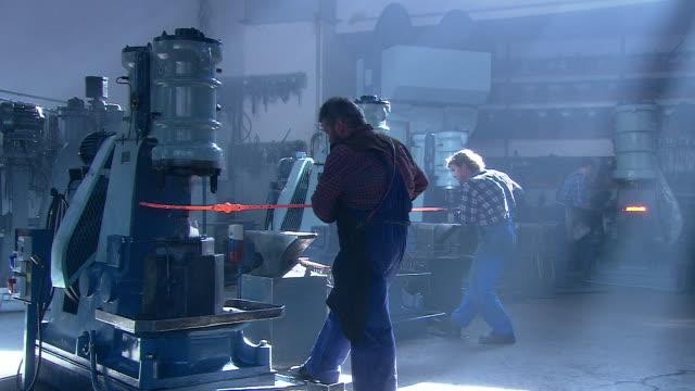 blacksmiths at work - blacksmith stock videos & royalty-free footage