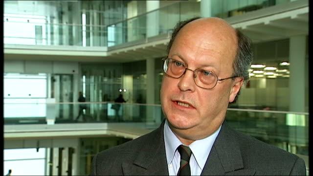 vídeos y material grabado en eventos de stock de blair appointed envoy to quartet of middle east peacemakers england london gir int john williams interview sot - blair williams