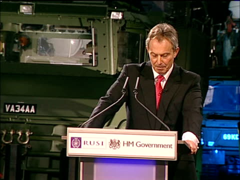 Blair calls for British military intervention to combat terrorism Blair speech on board HMS Albion The risk here and in the US where the future...