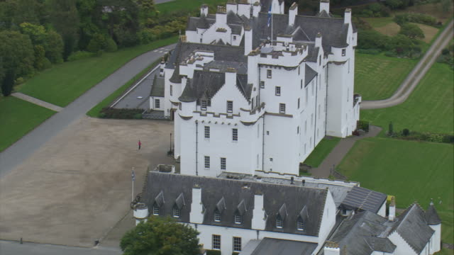 blair castle - perthshire stock videos & royalty-free footage