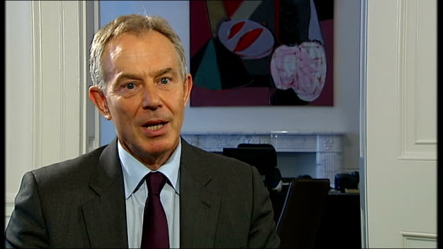 blair interview continues sot in the end the real responsibility for something like this lies with people who do foolish things in a world in which... - double chance stock videos & royalty-free footage
