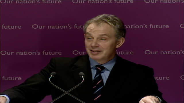 blair speech on multiculturalism and integration; full transcript; most christians are hugely surprised to be told that the koran reveres jesus as a... - multiculturalism stock videos & royalty-free footage