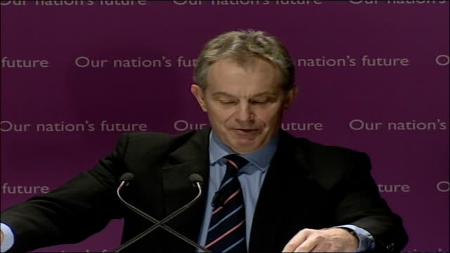 blair speech on multiculturalism and integration; full transcript; our public culture is also completely different. we now have more ethnic minority... - multiculturalism stock videos & royalty-free footage