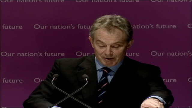 blair speech on multiculturalism and integration; full transcript; partly the answer lies in precisely defining our common values and making it clear... - multiculturalism stock videos & royalty-free footage