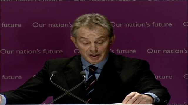 blair speech on multiculturalism and integration; full transcript; faith schools also naturally give religious instruction in their own faith. it is... - multiculturalism stock videos & royalty-free footage