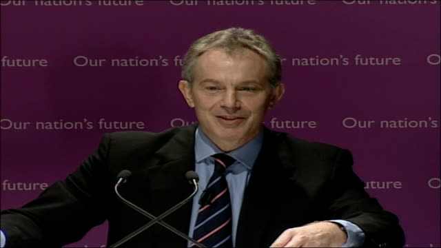blair speech on multiculturalism and integration; full transcript; england: central london: downing street: int tony blair mp speech sot - we should... - multiculturalism stock videos & royalty-free footage