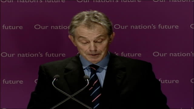 blair speech on multiculturalism and integration; full transcript; we have made very good progress on education. we began a national programme aimed... - multiculturalism stock videos & royalty-free footage