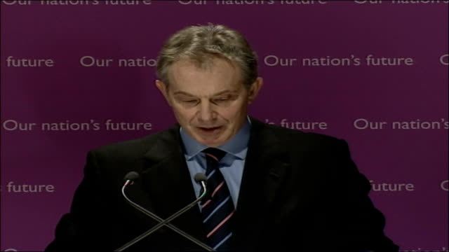 blair speech on multiculturalism and integration; full transcript; yet, because this challenge has arisen in this way, it is necessary to go back to... - multiculturalism stock videos & royalty-free footage