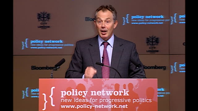 Blair speech to Policy Network conference Speech details We escape the tyranny of the betrayal theory of progressive politics This theory holds that...