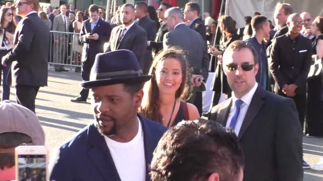 vidéos et rushes de blair underwood arriving to captain america civil war premiere at dolby theatre in in hollywood in celebrity sightings in los angeles - blair underwood
