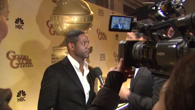 vidéos et rushes de blair underwood at the 68th annual golden globe awards nominations at beverly hills ca - blair underwood