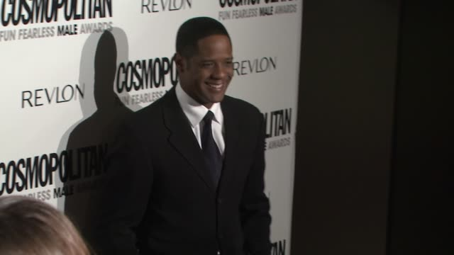 vidéos et rushes de blair underwood at the cosmopolitan honors its fun fearless males of 2009 at los angeles ca - blair underwood