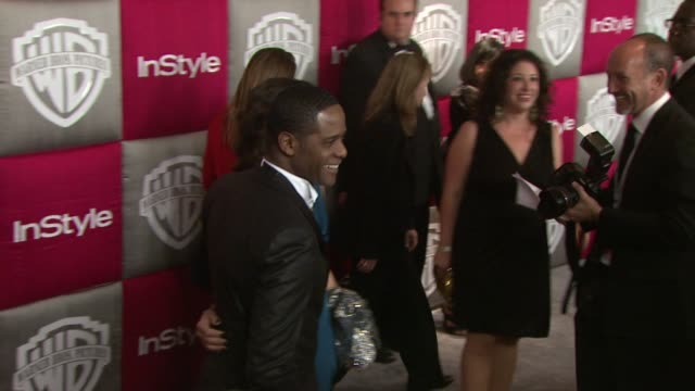 vidéos et rushes de blair underwood at the instyle 2009 golden globes after party part 3 at los angeles ca - blair underwood