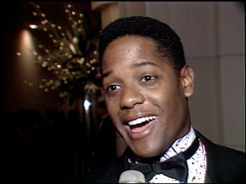 vidéos et rushes de blair underwood at the jerry lewis benefit at the beverly hilton in beverly hills california on may 12 1989 - blair underwood