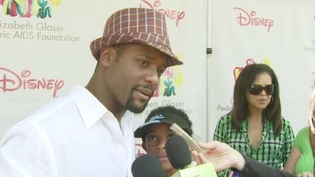 vidéos et rushes de blair underwood on the event what he wants for father's day the booth he's working at the a time for heroes carnival @ the wadsworth theatre at los... - blair underwood