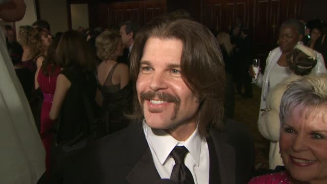 blake gibbons on who he brought as his date on attending the dga awards and on what he's looking forward to tonight at the 62nd annual directors... - directors guild of america awards stock videos & royalty-free footage