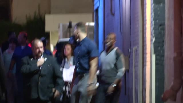 Blake Griffin Chris Paul at the Jimmy Kimmel Studio in Hollywood Celebrity Sightings in Los Angeles CA on 10/10/13