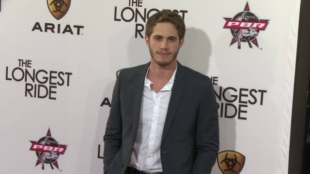 Blake Jenner at The Longest Ride Los Angeles Premiere at TCL Chinese Theatre on April 06 2015 in Hollywood California