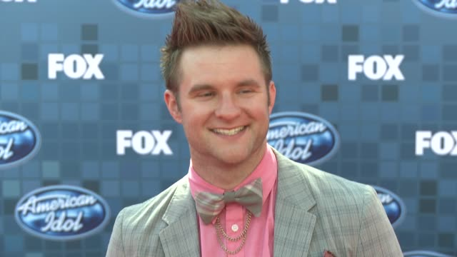 blake lewis at the fox's 'american idol 2011' finale results show at los angeles ca - results show stock videos & royalty-free footage