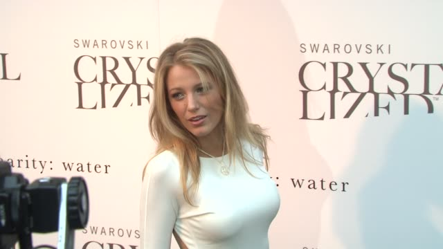 Blake Lively at the Blake Lively Hosts Grand Opening of Swarovski CRYSTALLIZED Concept Store at New York NY