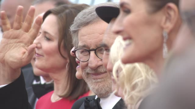 CLEAN Blake Lively Steven Spielberg Mark Rylance Rebecca Hall Ruby Barnhill Kate Capshaw Paz Vega Berenice Bejo at 'The BFG' red carpet at Palais des...