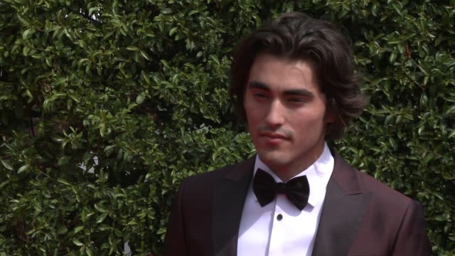 blake michael at the 2015 creative arts emmy awards at microsoft theater on september 12 2015 in los angeles california - emmy awards stock-videos und b-roll-filmmaterial