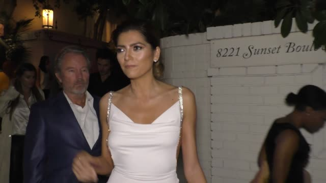 Blanca Blanco at the 2017 GQ Men Of The Year Dinner Party at Chateau Marmont in West Hollywood in Celebrity Sightings in Los Angeles