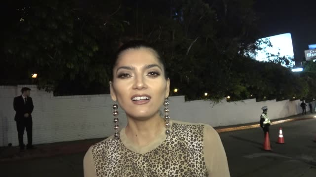 INTERVIEW Blanca Blanco defends the controversial red dress she wore at the Golden Globes outside Chateau Marmont in West Hollywood in Celebrity...