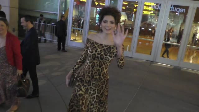 vidéos et rushes de blanca blanco outside the living with yourself premiere at arclight cinemas in hollywood in celebrity sightings in los angeles, - arclight cinemas hollywood
