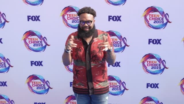 blanco brown at the teen choice 2019 on august 11 2019 in hermosa beach california - annual teen choice awards stock videos & royalty-free footage