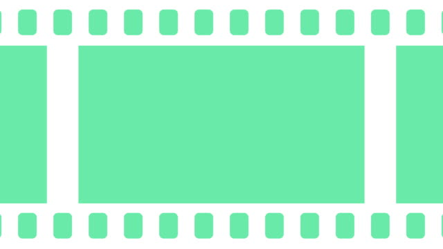 blank film reel fly in and fly out background animation - negatives stock videos & royalty-free footage