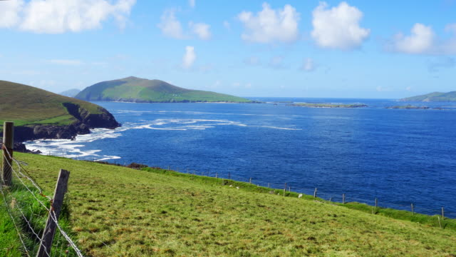 Blasket Sound At Dunmore Head On Dingle Peninsula
