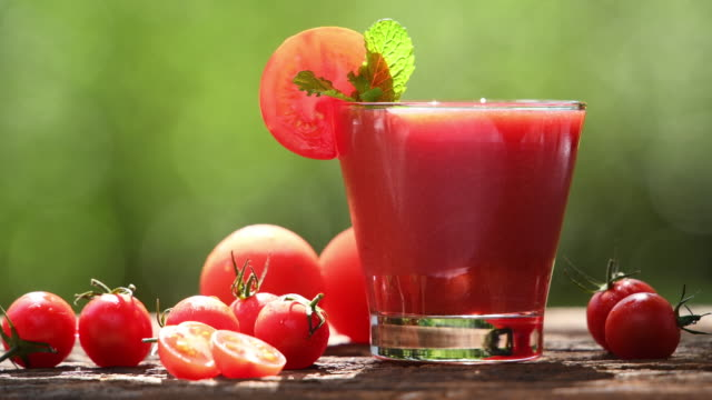 blended tomato juice - tomato juice stock videos and b-roll footage