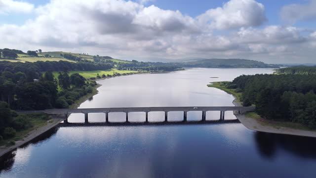 blessington lake near wicklow - heather stock videos & royalty-free footage