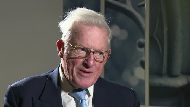 bletchley park codebreaker and politician baroness trumpington dies aged 96 england int lord tom king interview sot - john w. snow politician stock videos and b-roll footage