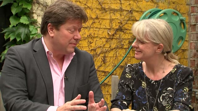 'blind date' couple share memories of cilla black ext alex and sue tatham talking about being on the show sot - リチャード・パロット点の映像素材/bロール