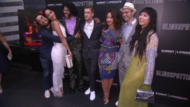 CHYRON Blindspotting New York Premiere at Angelika Film Center on July 16 2018 in New York City