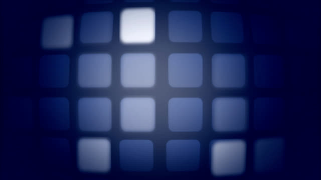 blinking and lighting squares in color as op-art background - multiple image stock videos & royalty-free footage