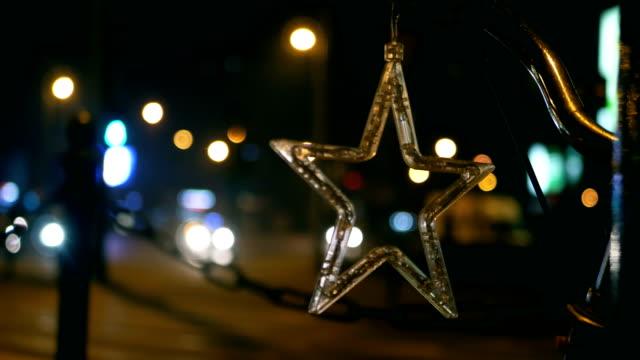 Blinking Christmas Star, Neon, Christmas, Christmas Ornaments