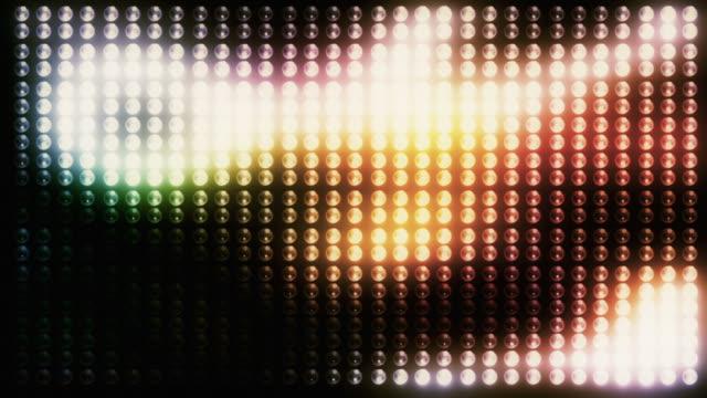 blinking lights background loop - fiesta background stock videos & royalty-free footage