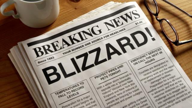 Blizzard Headline