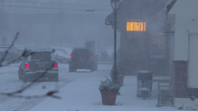 Blizzard, Heavy Snow, Whiteout Conditions, Winter Storm - Nor'easter