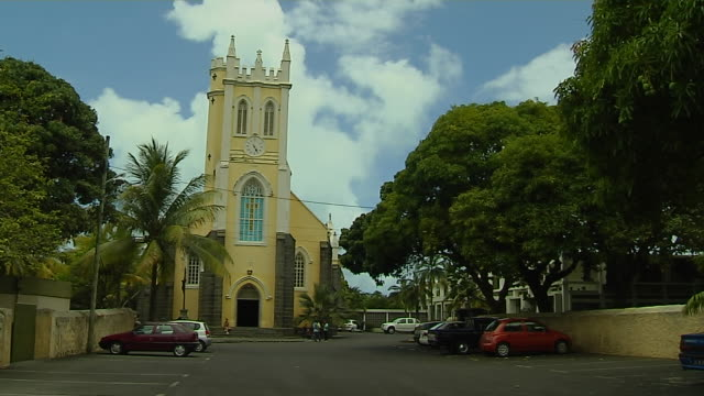 Block Shot Mahebourg Church Mauritius