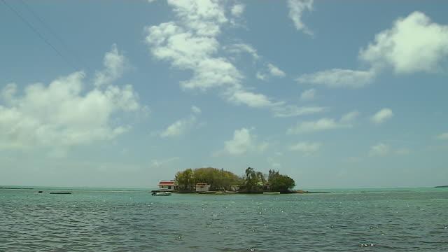 Block Shot Mahebourg Island Mauritius