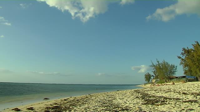 Block Shot Mont Beach Mauritius
