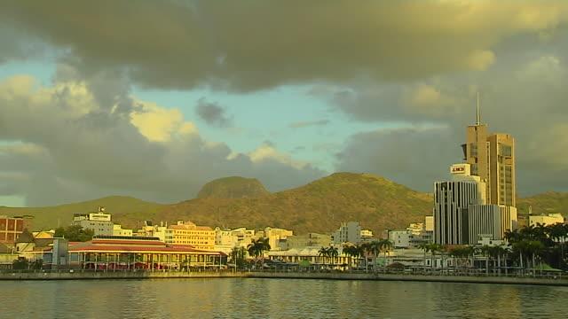 Block Shot Sea Port Louis Mauritius