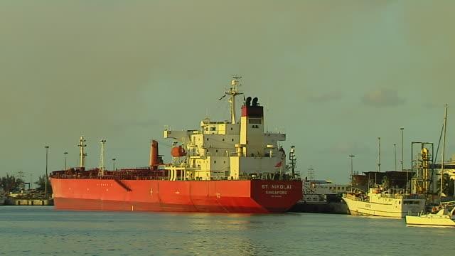 Block Shot Ship Port Louis Mauritius