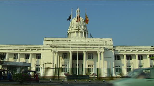 block shot town hall colombo western province sri lanka - sri lankan culture stock videos and b-roll footage