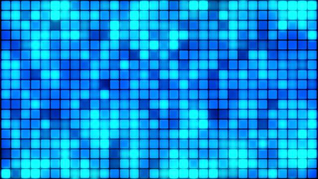blocks squares box particles background - quadrato forma bidimensionale video stock e b–roll